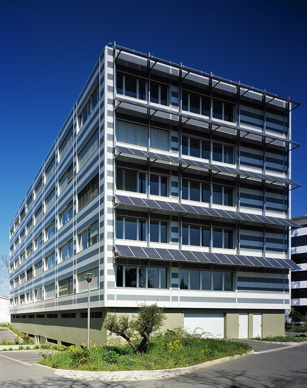 Immeuble de bureaux heliopolis for Immeuble bureaux hqe