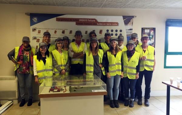 Visite de l'usine de fabrication Imérys