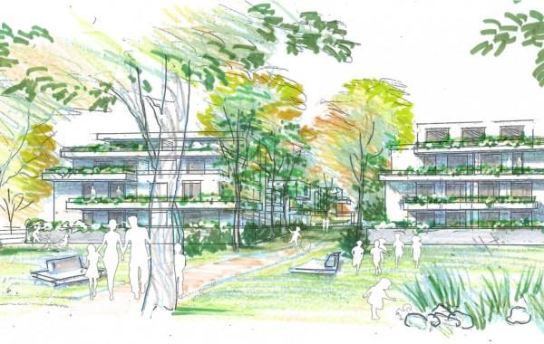 Cb architectes et LP Promotion remportent le concours OPPIDEA de la ZAC de las Fonses, Ilot 7
